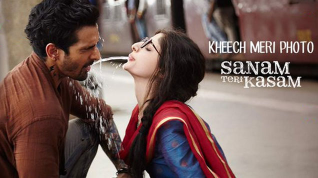 Kheech Meri Photo Lyrics – Sanam Teri Kasam