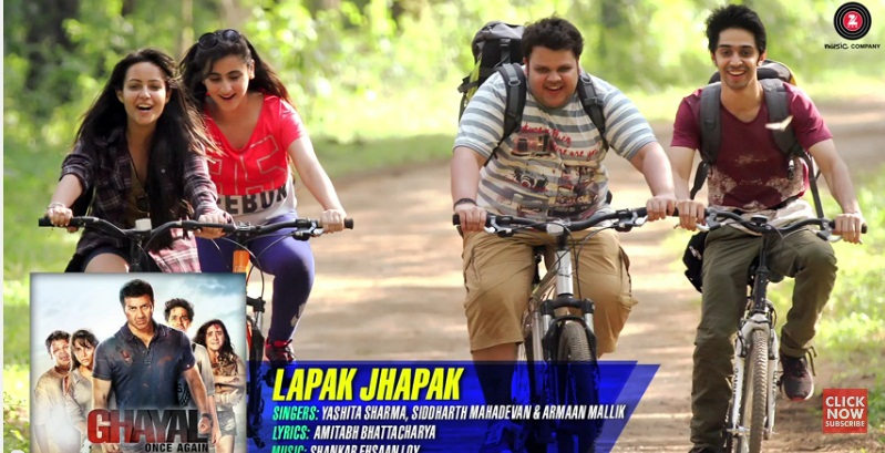 Lapak Jhapak Lyrics – Ghayal Once Again
