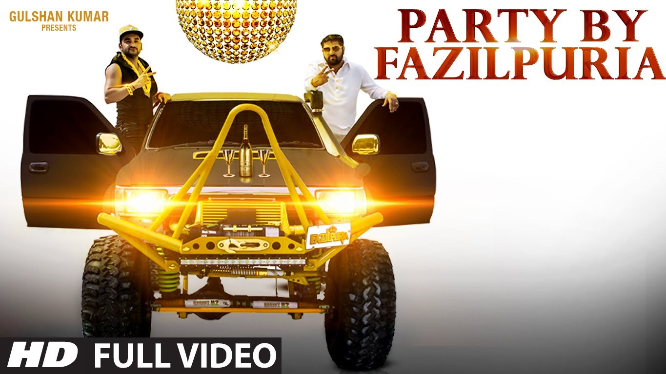 PARTY BY FAZILPURIA LYRICS Rap Song