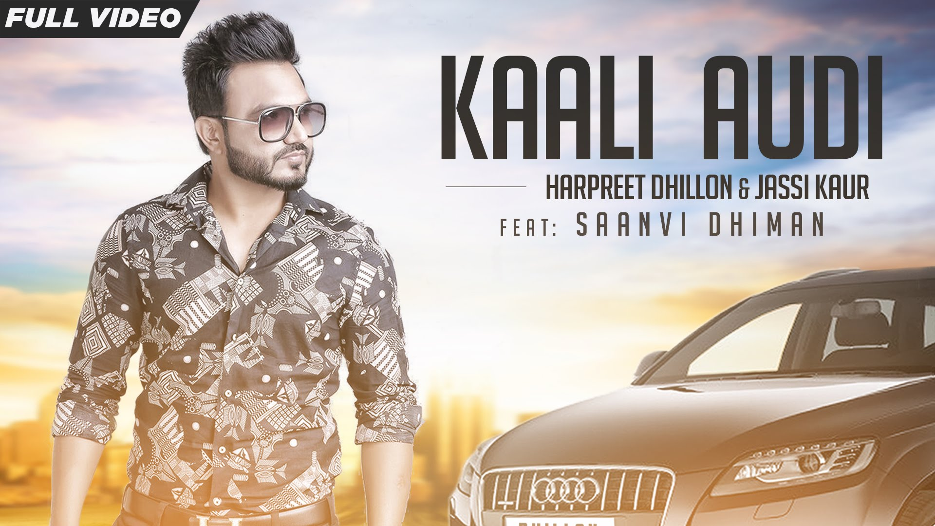 Kaali audi harpreet dhillon song lyrics