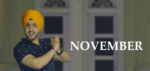 November Lyrics – Akaal & Parmish Verma