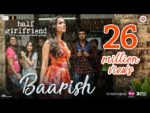 Baarish Lyrics – Half Girlfriend