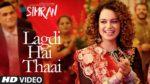Lagdi Hai Thaai Lyrics – Simran