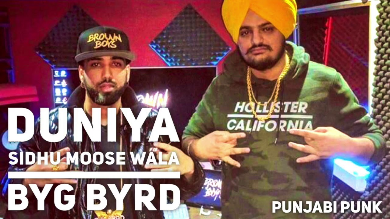 Sidhu Moose Wala Song Lyrics